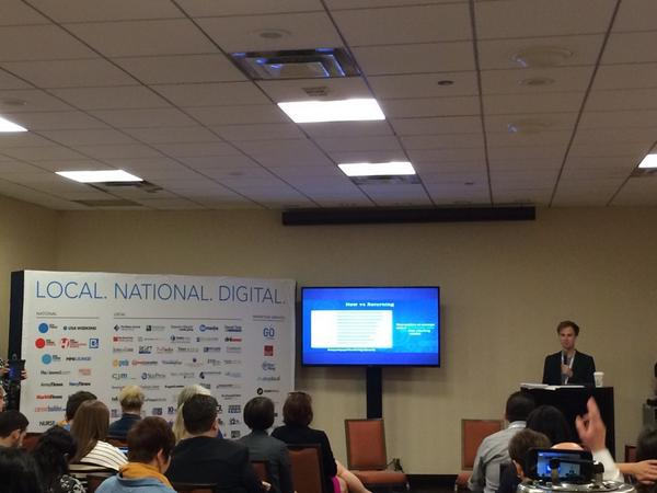 .@niknadolski dropping some @Chartbeat knowledge at #GannettConnects #ONA14 http://t.co/OfPMYgEEv5