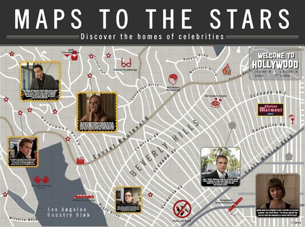 Maps to the Stars MapsStarsFilmUK  Twitter