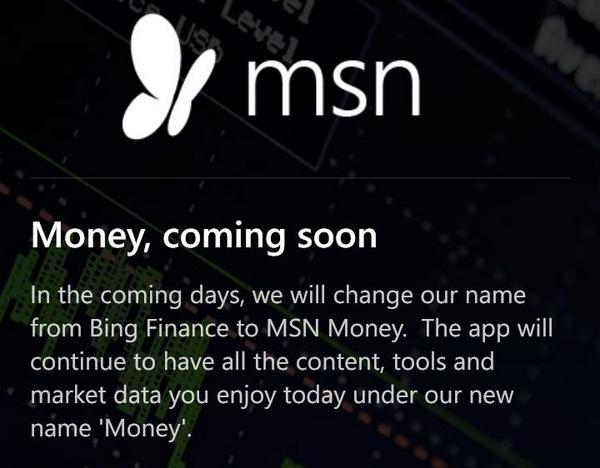 MSN Money Apps (@Bing_Finance) | Twitter