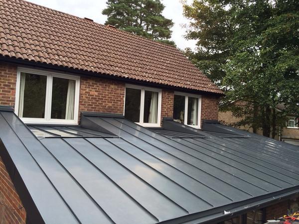 Zinc Roofing Company On Twitter Another Job Complete Rheinzink Graphite Grey Standingseam Zincroofingsurrey Zrc Rheinzink Http T Co Xvxqakqgrz
