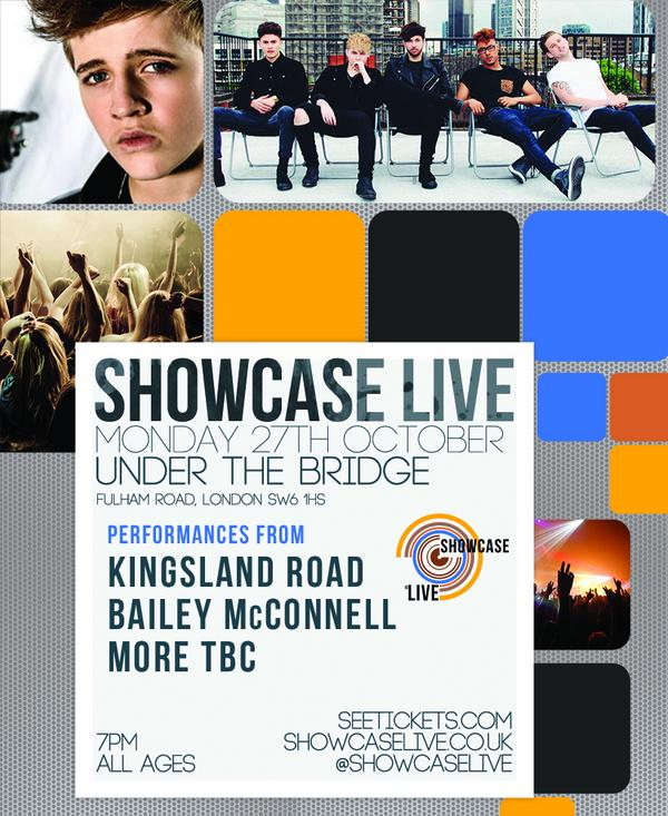 First acts confirmed for @UTBlondon 27 Oct! @baileymac02 & @KingslandRd. Tickets on sale tomorrow 9am http://t.co/jF1Mg9JYSq @ShowcaseLive