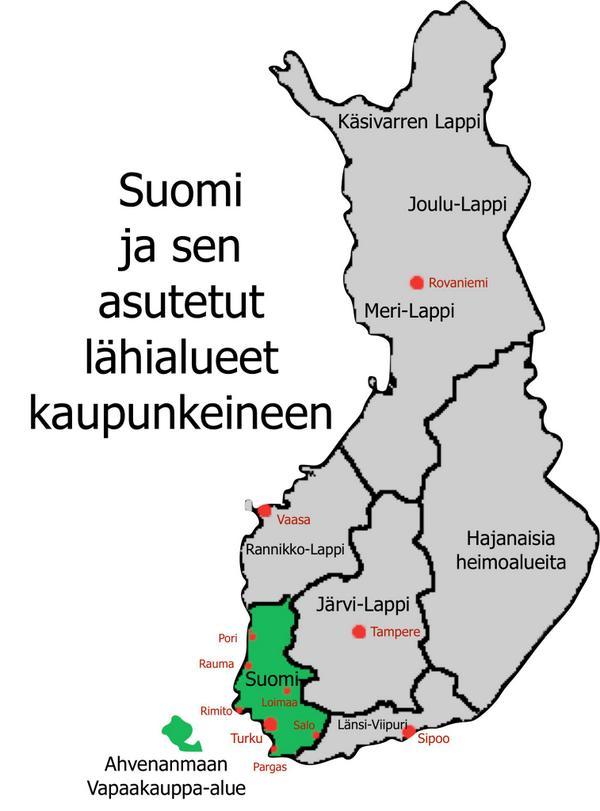 Uzivatel Janne Saarikko Na Twitteru Tassa On Se Oikea Kartta