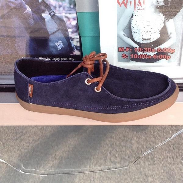 81990b1f73  Vans Rata Vulc (Suede) Blue Nights Marshmellow from the Surf Siders  Series.  57 in sizes 7-12. In-store and comi...pic.twitter.com FIwXobdN0T