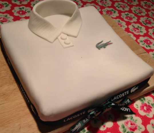 LACOSTE on Twitter Can you find a more thoughtful birthday cake