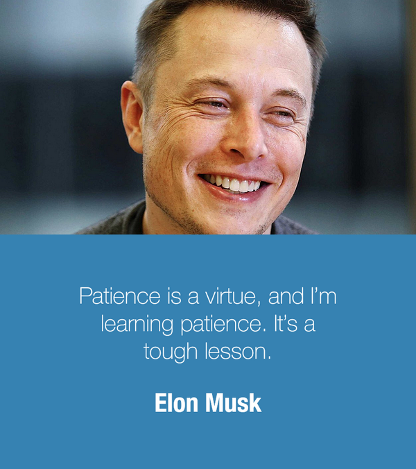 Entrepreneur Quotes On Twitter Patience Is A Virtue And Im