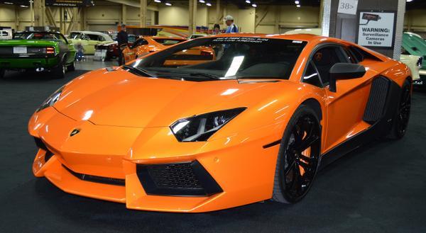 Show Me The Money Lamborghini Aventador Steals The Show At