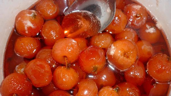 райские яблочки рецепт приготовления с фото