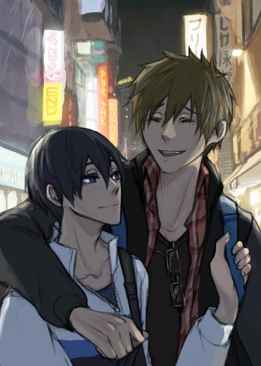 good morning!! good makoharu to you!! http://t.co/AQQqGW9gaI http://t.co/PSFNg68VXZ