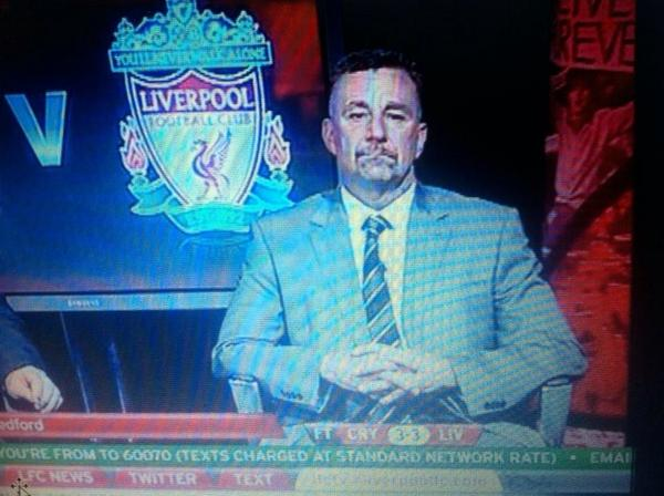 John Aldridge post match http://t.co/S2TztE5NXt