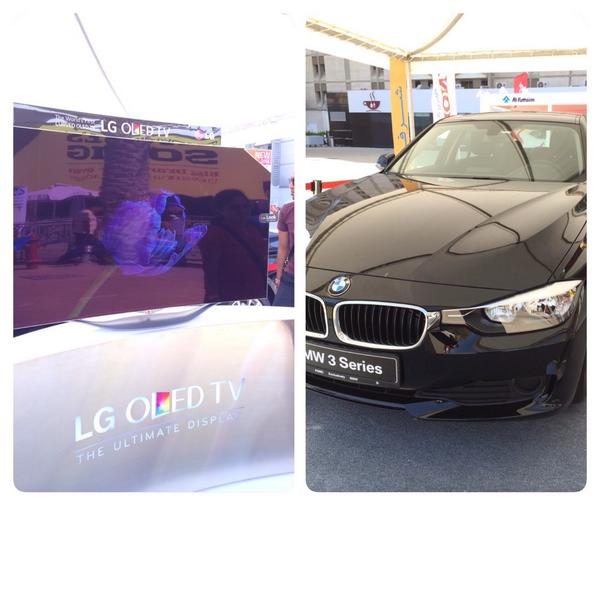 Only in Dubai? Buy a TV - get a BMW free. Seriously. #GITEXShopper http://t.co/4BadpODReS