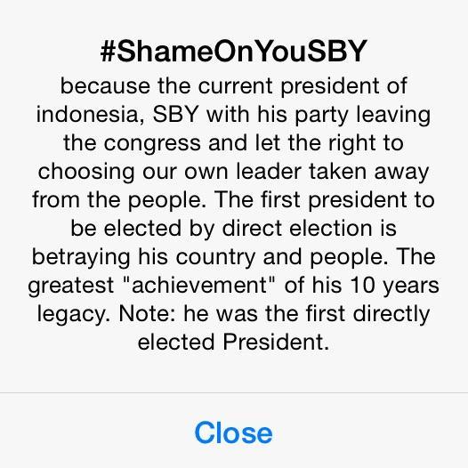Penjelasan @twitter soal trending topic worldwide #ShameOnYouSBY http://t.co/2v04bIBAYe
