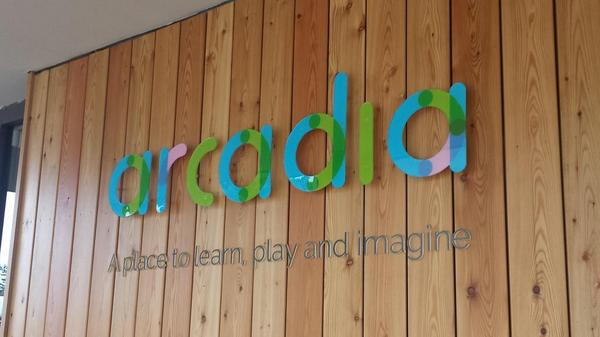Image result for Arcadia Nursery king's buildings logo