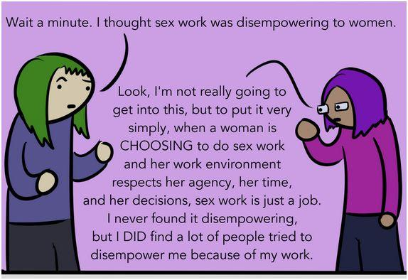 This comic discusses #sexwork, whorephobia and is NSFW. Still awesome! http://t.co/F8DCVDHxHp #c36 #cdnpoli http://t.co/V189V8oxfZ