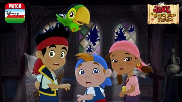 disney junior on twitter boo for you is right around the corner check out a new jakeneverlandpirates halloween episode on watchdj