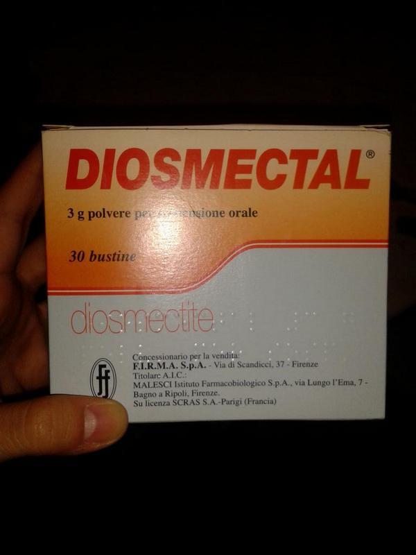 Ritiro Farmaci: lotto DIOSMECTAL ritirato dal mercato per ordine dell'AIFA