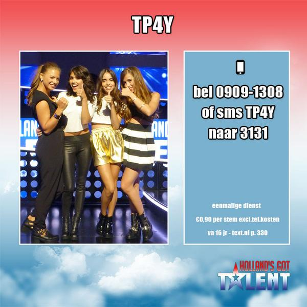 Is @TP4YMUSIC is jouw favoriet? Stem nu! #HGT http://t.co/XoQl5KOmeD