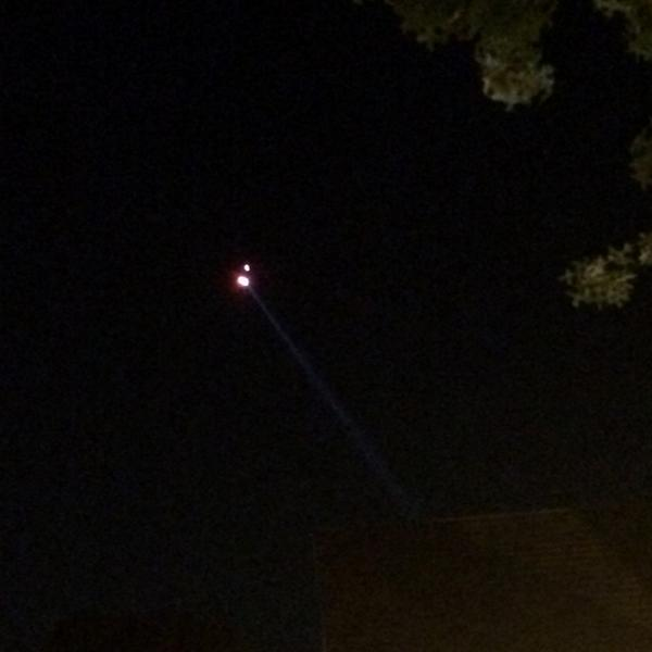 Police helicopter buzzing overhead, as search continues for suspect who shot #Ferguson police officer http://t.co/OHV5XZPupv