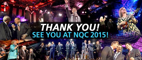 Thank you for an amazing week of #GreatGospelMusic in the Smokies! #GospelMusicFans #GreatestFansEver #NQC2014 http://t.co/Ibw95s1rdj