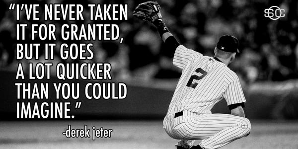 Read of the Week: Derek Jeter says a final farewell to the game he loves. http://t.co/Gu8Ain54Cc