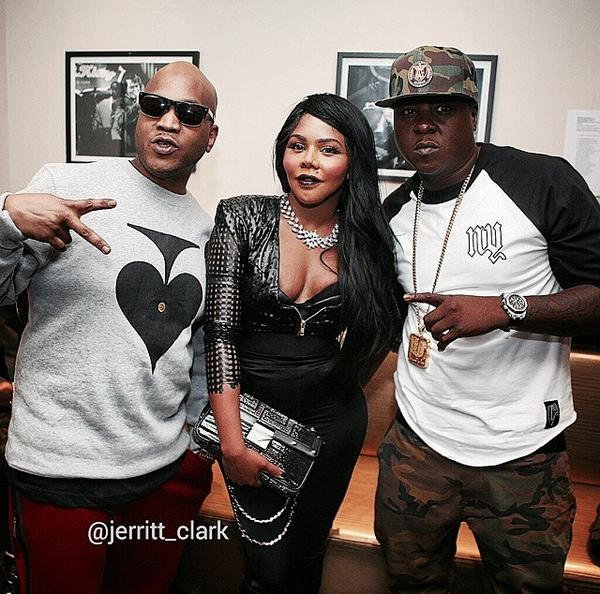New Photo of Styles P, Lil Kim & Jadakiss backstage at BB Kings http://t.co/U3lNf9O27O