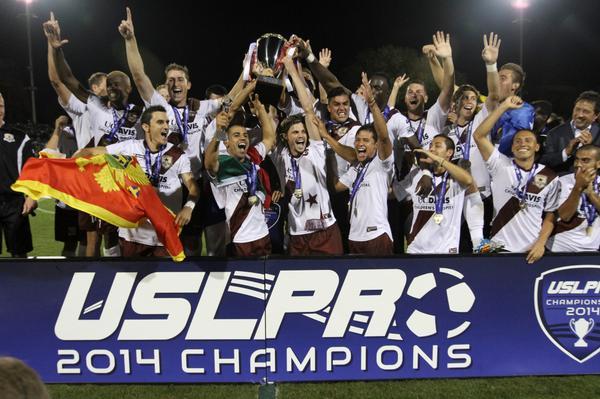 Sacramento Republic FC 2014 USL PRO Champions