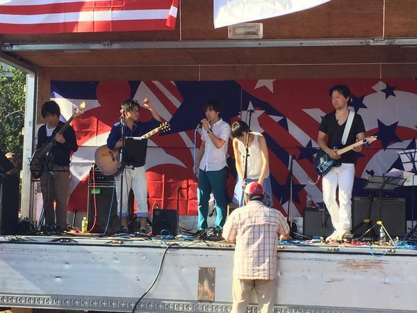 楽しかった!  福生インターナショナルフェア!  ♪( ´θ`)ノ #福生 #fussa http://t.co/j0RTplQqJi
