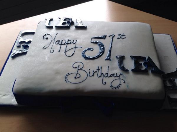 Astounding Uea Events On Twitter Happy 51St Birthday Uea Were Celebrating Funny Birthday Cards Online Inifofree Goldxyz