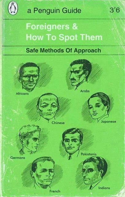 "today in crucial books—""foreigners and how to spot them: safe methods of approach"" v @kawrage cc @AfricasaCountry http://t.co/w9S0Qr8rn5"