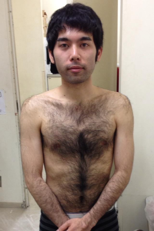ゲイ 毛深い 日本人