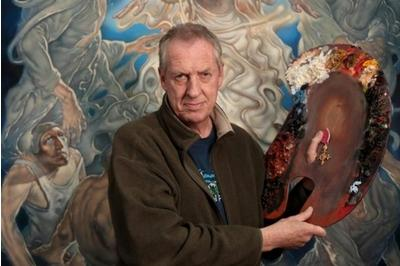 Artist Peter Howson handing back OBE in protest at referendum and airstrikes by allies http://t.co/UxMjpNyj0A http://t.co/ga1yeZ9Xyf