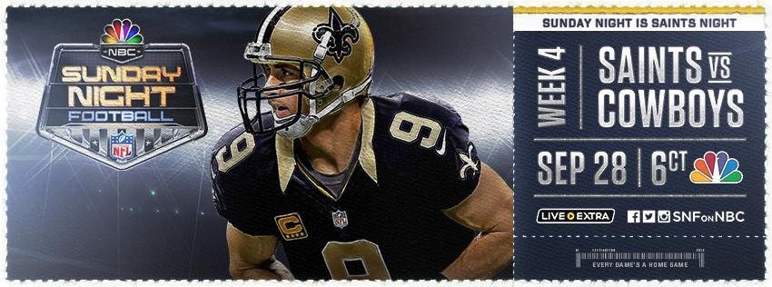ReTweet this if you think Sunday night is @Saints night! #SNF http://t.co/rSAjsyvWqV