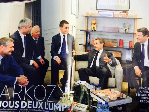 Sarkozy utilise les bureaux payés par la République pour sa campagne à l'UMP: il faut mettre fin à cette dérive http://t.co/0lu54xi4EQ