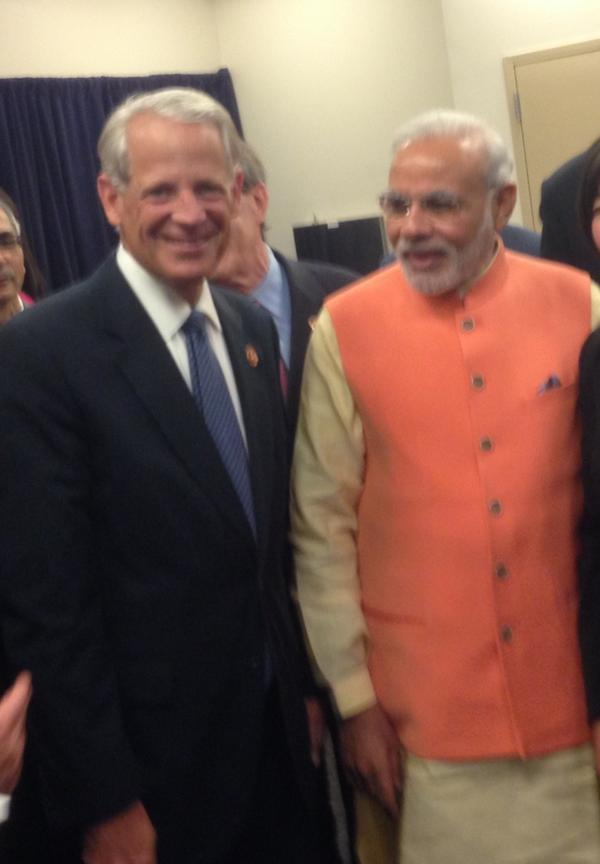 Honored to speak with Indian Prime Minister @narendramodi about NY-3 today http://t.co/W77OmwIfpT