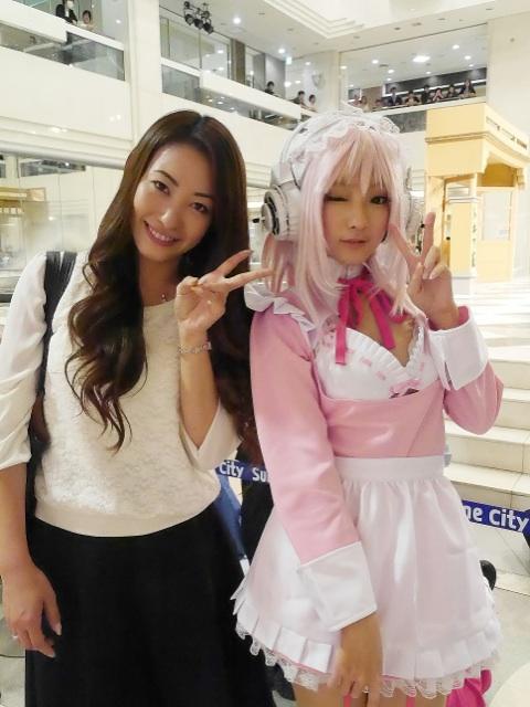 火将ロシエルさん&村田綾さんの美人ツーショット! http://t.co/hEvXxguPU8