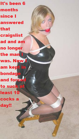 Think, that sissy bondage apologise