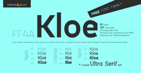 Kloe Sans Font Download
