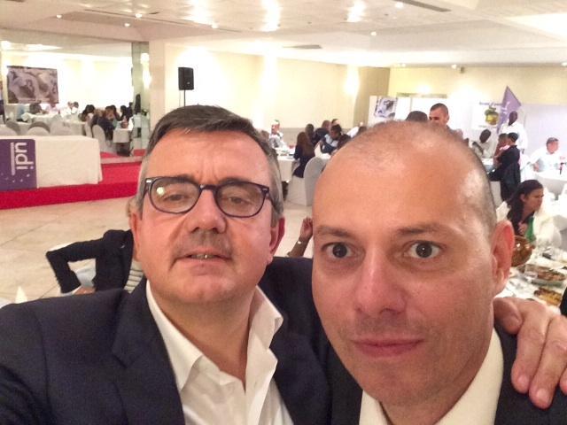 Selfie avec Yves Jégo - image  on http://www.billelouadah.fr