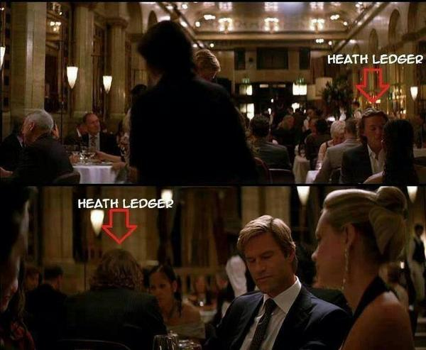 The Joker in THE DARK KNIGHT (2008) sitting right next to Bruce Wayne & Harvey Dent? #batman http://t.co/ObMksNNmW5 http://t.co/WZoDDBomN5