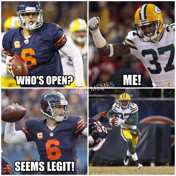 Nfl Memes On Twitter Recap Of The Bears Vs Packers Game Http T Co Slalslrsyz