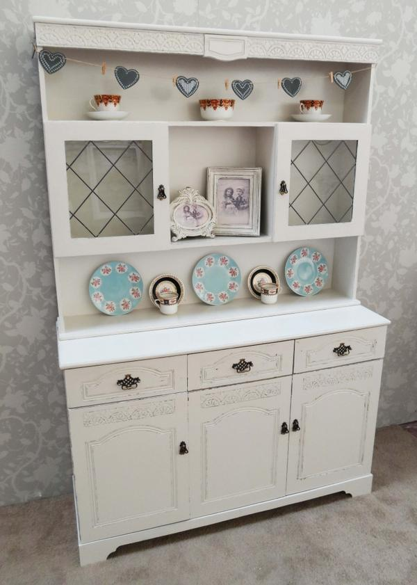 Beautiful Welsh Dresser Painted