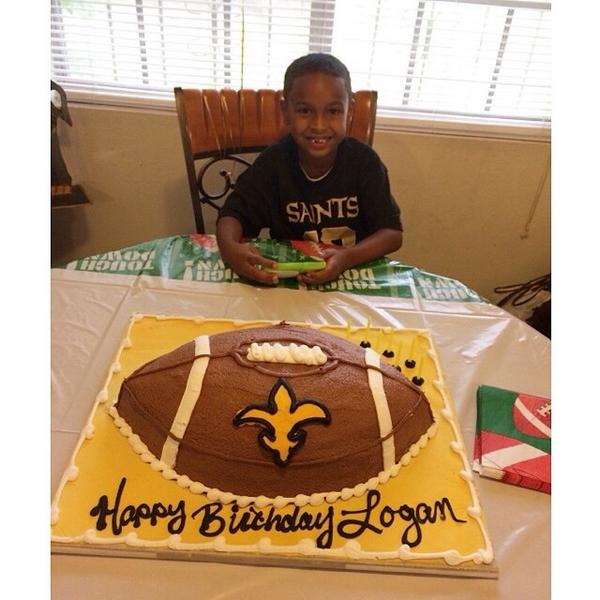 New Orleans Saints On Twitter Charla4mayor Happy Birthday Logan