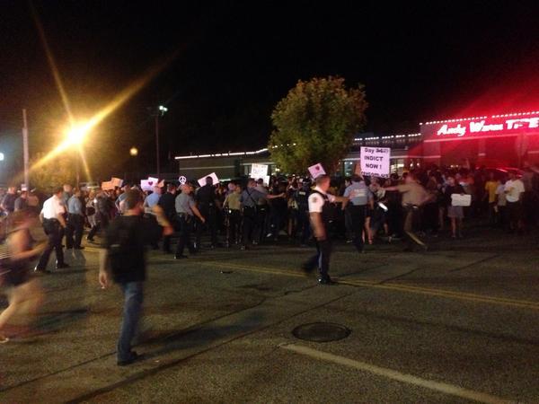 Livestream from Ferguson 9-28-14