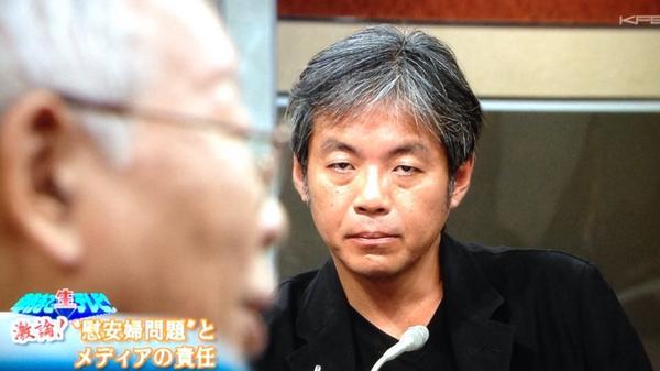 恐ろしい。RT9/27の『朝まで生テレビ』で秦郁彦氏が「韓国は放っとくべき、放っといたからといって日本は何にも困らない。」と発言した直後に、青木理が秦郁彦氏をメガネを外して睨みつけていた。本性を現した瞬間をカメラはしっかり捉えていた。 http://t.co/gY8189VaML