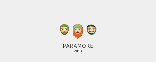Can we please have @paramore emojis?! OMG! These are amazing.  Credits to whoever made this.