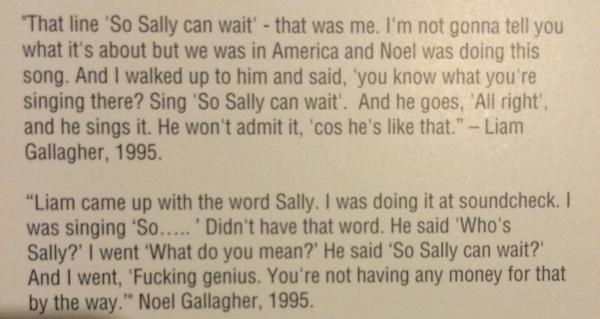 Noelgallagher Quotes On Twitter Noel And Liam On Dont Look Back