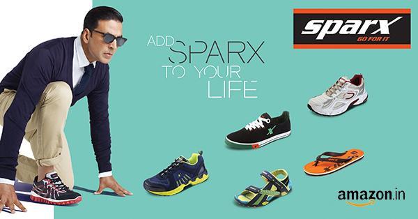 Sparx range of shoes endorsed