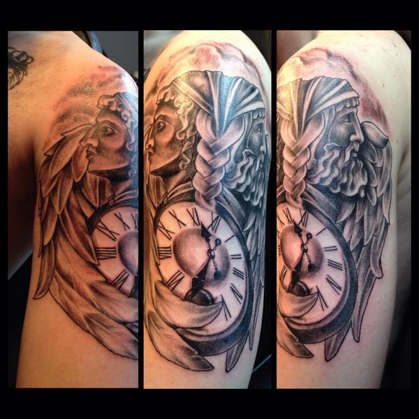 god janus tattoo Roman
