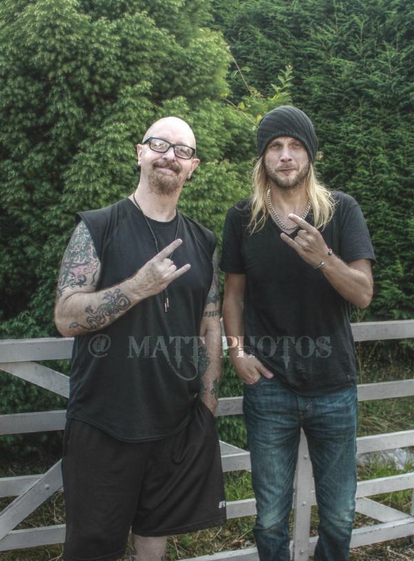 #TheMetalGod Rob Halford & @RichieFaulkner of #TheBestBandEver @JudasPriest