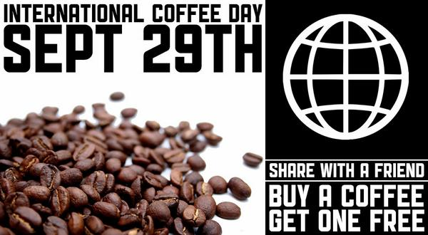 It's #InternationalCoffeeDay! Share it with a friend. Buy a coffee at @CaffeVita today, and receive a 2nd one FREE. http://t.co/wzPHuhZYqZ