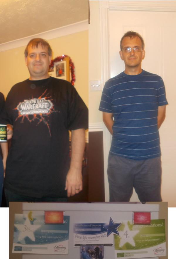 I'm going to show this off one last time - me, before and after @SlimmingWorld: http://t.co/50BJ0xU7QS